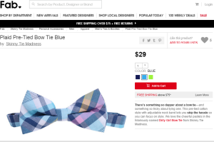 fab bow tie
